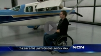 Pilot diagnosed with bleeding disorder overcomes serious adversity