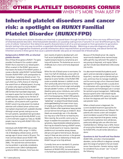 RUNX-FPD Article