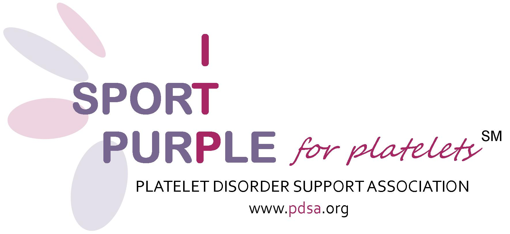 Sport Purple for Platelets Day logo
