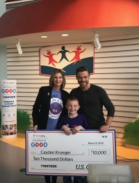 8-year-old boy recognized for raising money to research rare disease