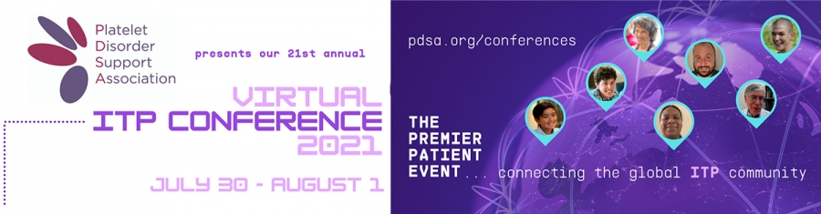 PDSA's 21st Annual ITP Conference - VIRTUAL EVENT July 31-August 1, 2021