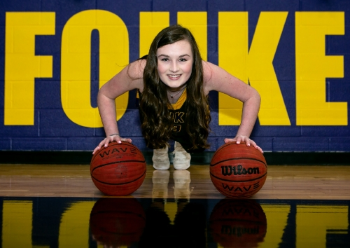 Despite serious diagnosis, area athlete continues to win on and off the court
